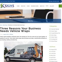 Three Reasons Your Business Needs