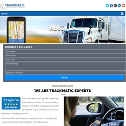 About - Vehicle Tracking Installation Company, New Zealand