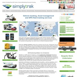 Vehicle Tracking / Asset Management / GPS Tracking