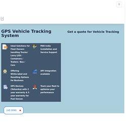 Buy #1 GPS Vehicle Tracking System