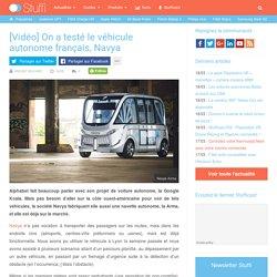 On a testé le véhicule autonome français, Navya (vidéo)