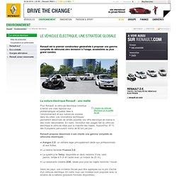Le véhicule électrique, une stratégie globale