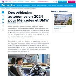 Des véhicules autonomes en 2024 pour Mercedes et BMW