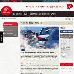 Véhicules diesel : changeons