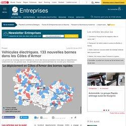 Véhicules électriques. 133 nouvelles bornes dans les Côtes d'Armor