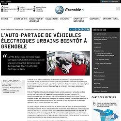 L'auto-partage de véhicules électriques urbains bientôt à Grenoble