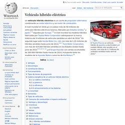 Vehículo híbrido eléctrico