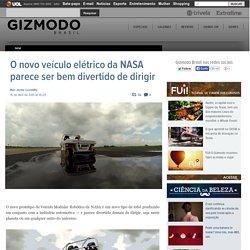 O novo veículo elétrico da NASA parece ser bem divertido de dirigir