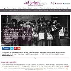 Loi Veil : Ces 8 lois qui ont bouleversé la vie des femmes
