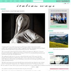 Veiled truth, sculpture and secrets