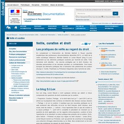 Veille, curation et droit — Documentation (CDI)