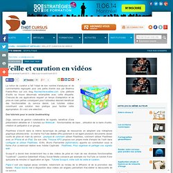 Veille et curation en vidéos
