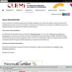 Veille documentaire- CLEMI