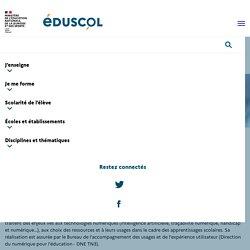 Veille éducation numérique 2020-2021