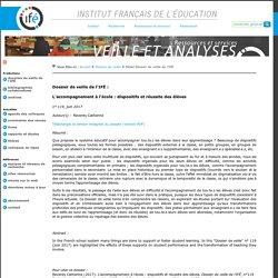 Veille et Analyses de l'ifé : l'accompagnement