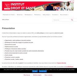 Institut Droit et Santé