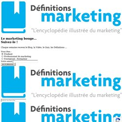 Veille marketing - Définitions Marketing