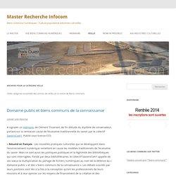 Master Recherche Infocom