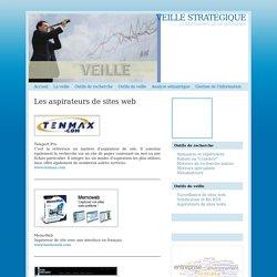 Veille stratégique : les aspirateurs de sites web