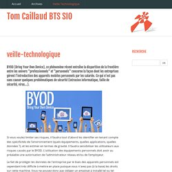 veille-technologique - Tom Caillaud BTS SIO