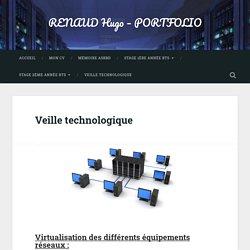 Veille technologique – RENAUD Hugo – PORTFOLIO