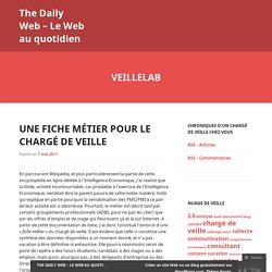 The Daily Web – Le Web au quotidien