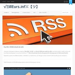 Flux RSS / ATOM & Outils de veille