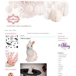 veilleuse Lapinou - Les fleurs : boutique en ligne