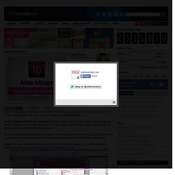 Adobe InDesign'a Giriş