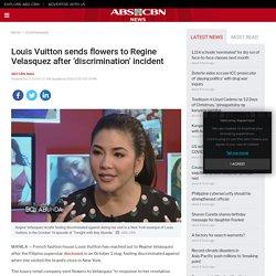 Louis Vuitton sends flowers to Regine Velasquez after 'discrimination' incident