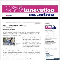 Vélib' : 5 facteurs clés de succès (3/5)
