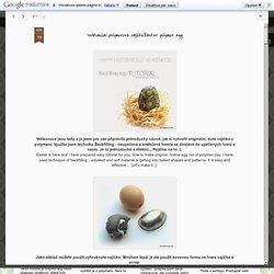 Velikonoční polymerové vajíčko/Easter polymer egg