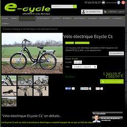 Vélo électrique ecycle c1