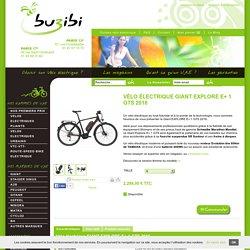 Vélo électrique GIANT EXPLORE E+ 1 GTS 2016