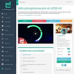 Vélo phosphorescent et LEDS UV