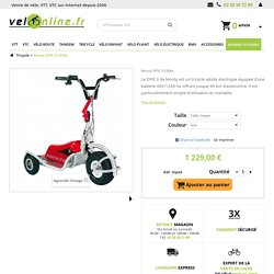 Vélo Tricycle Monty DPIE 3 E-Bike - Velonline