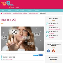 3G y otras velocidades de navegación por Internet