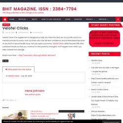 Velofel Clicks – BHiT MAGAZINE. ISSN : 2384-7794