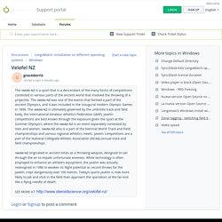 Velofel NZ : Support portal
