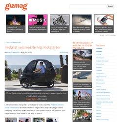 Pedalist velomobile hits Kickstarter