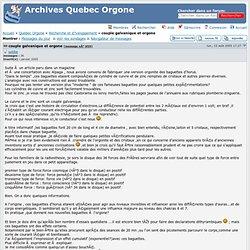 Archives Quebec Orgone: Recherche et d?veloppement » couple galvanique et orgone