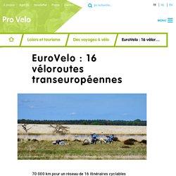 EuroVelo : 16 véloroutes transeuropéennes