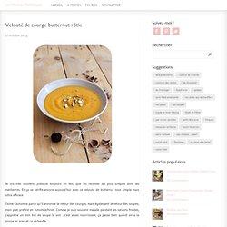 Velouté de courge butternut rôtie