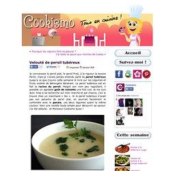 Velouté de persil tubéreux « Cookismo
