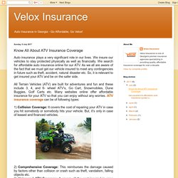 Know All About ATV Insurance Coverage