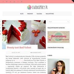 Red Velvet z truskawkami