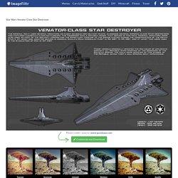 Star Wars Venator Class Star Destroyer - ImageFiltr