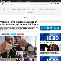 Vendée : une classe relais pour faire revenir des jeunes à l'école - France 3 Pays de la Loire