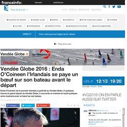 Vendée Globe 2016 : Enda O'Coineen l'Irlandais se paye un bœuf sur son bateau avant le départ - France 3 Pays de la Loire
