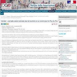 Vendée : une belle saison estivale pour le tourisme et un record pour le Puy du Fou